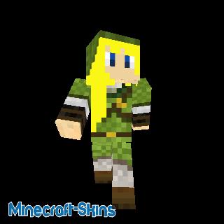 Link fille - Zelda
