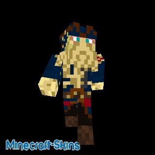 Capitaine Davy Jones - Pirates des Caraïbes