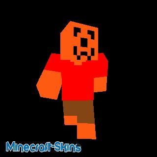 Minecraft skins t te de citrouille - Tete de citrouille ...