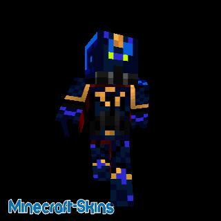 le soldat spacial bleue