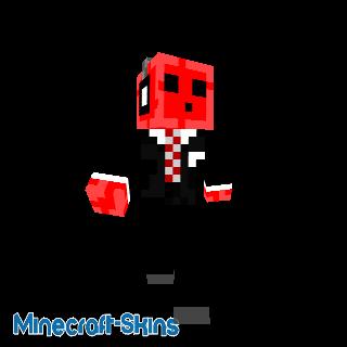 Slime rouge en costume