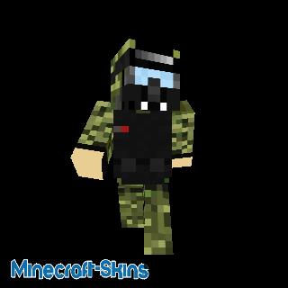 Soldat Lourd - Tenue de Combat (snakering)