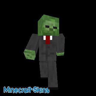 Zombie en costume