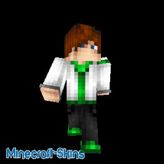 Homme cool vert