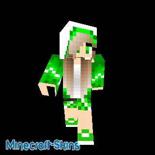 Fille BadGirl En Vert ❤