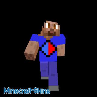 Steve T-shirt Bleu