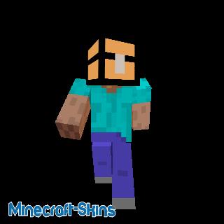 Steve avec un coffre