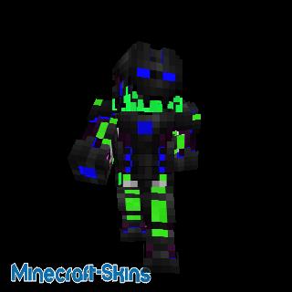 Super robot en armure verte