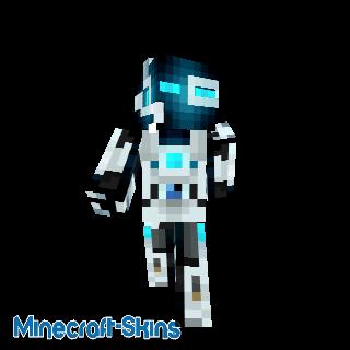 Ender robot bleu