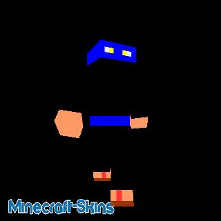 ninja bleu