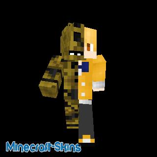 golden freddy humain/animatronic