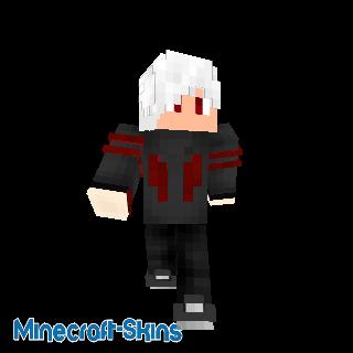 Garçon veste noir et rouge