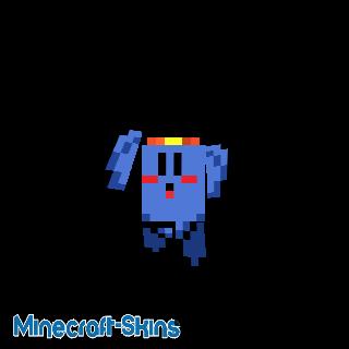 Kirby Bleu - Kirby Triple Deluxe