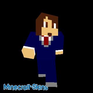 Garçon en costume bleu