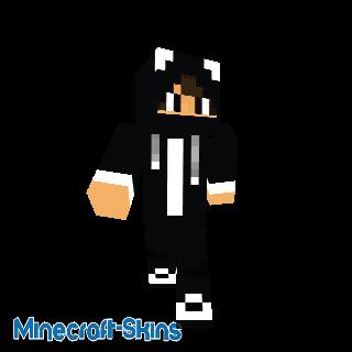 skin homme panda V2