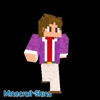 Homme d'affaire violet 2