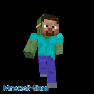 Zombie au masque Steve
