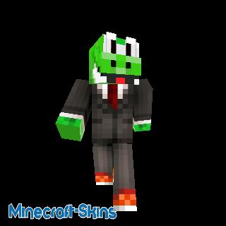 Yoshi Businessman-Super Mario Bros.