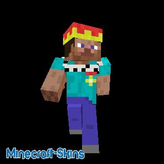 Steve 1, roi de Minecraft