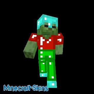 Zombie en armure colorée