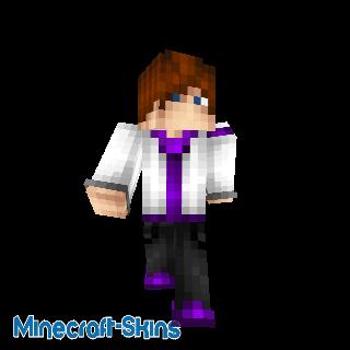 Homme cool violet