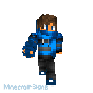 Skin PvP bleu