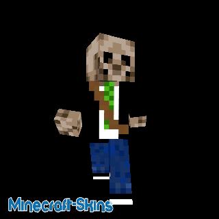 Garçon squelette