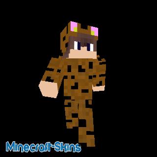 Garçon déguisé en tigre