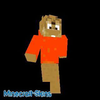 Chipmunk avec sweat orange