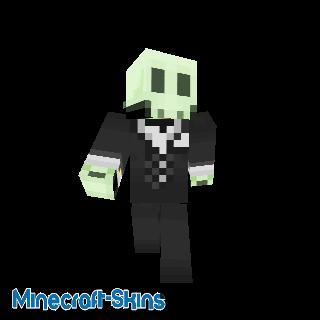 Squelette en costume