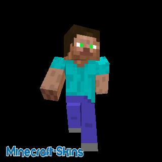 Steve aux yeux verts