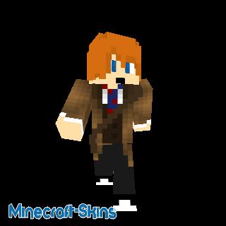 Minecraft Doctor Who-Le Valeyard Docor