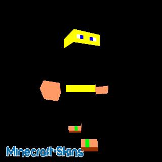 ninja jaune