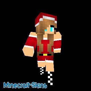 Fille bonnet de Noël