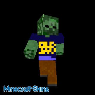 Zombie en tee-shirt