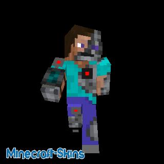 Steve mi homme mi robot