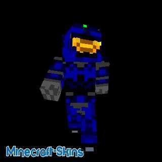 Spartan bleu - HALO