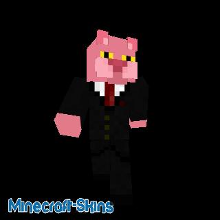 Panthère rose en costard