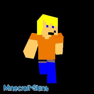 joueur de Minecraft