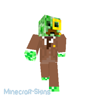 Creeper en costume + monocle