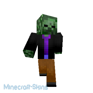 Zombie veston noir