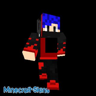 voici mon skin Minecraft