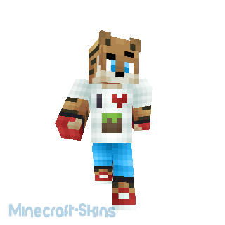 Tigre love Minecraft