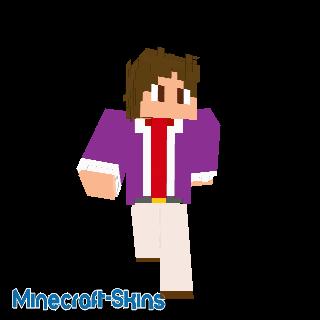 Homme d'affaires violet 3 (couleurs unies)