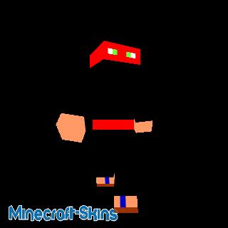 ninja rouge
