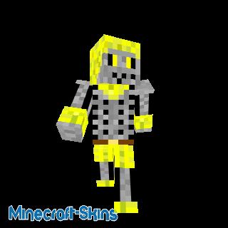 Squelette jaune
