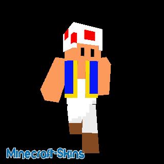 Toad - Super Mario