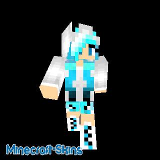 Girl Panda Blue