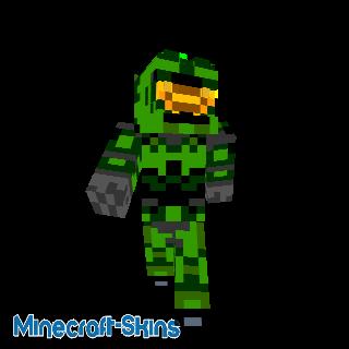 Spartan vert - HALO