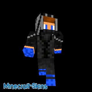 Skin de Ninja bleu(PvP)
